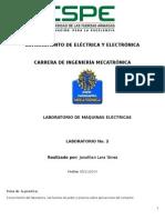Laboratorio 1 Maquinas Electricas
