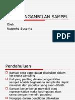 Cara Pengambilan Sampel
