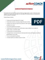 Declaración de Proposito