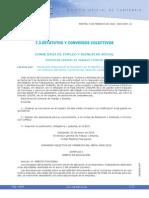 Comercio del Metal de Cantabria años 2009-2012