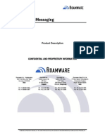 Roamware - Outreach Messaging - Product Description