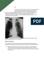 pneumotorax medscape