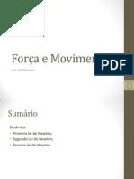 FORÇA E MOVIMENTO