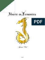 Muerte en Formentera -libro ilustrado