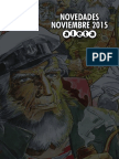 Novedades Noviembre 2015 Aleta Ediciones
