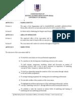 Constitution of Marketing Alumni Association