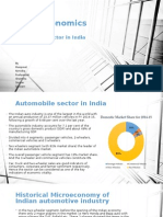 Automobile - Microeconomics India