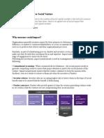 Performance Matrix for Social Venture