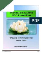 Manual HCG PowerPlus