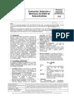CP-113 Sub Contratistas
