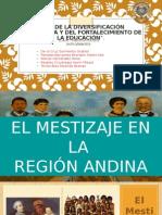 Mestizaje en la Región de los Andes