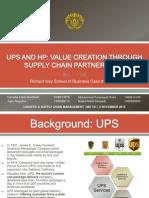 UPS AND HP