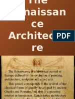The Renaissance Architecture