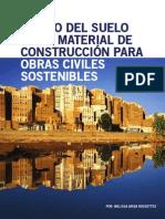 el uso del suelo como material de construcción para obras civiles sostenibles