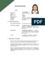 CURRICULUM VITAE Eva Maritza Menendez Medina. Actual.cv