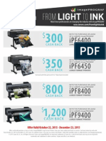 Light to Ink Flyer