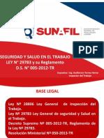 """""""Seguridad y Salud en El Trabajo Ley Nº 29783 y Su Reglamento"""""""