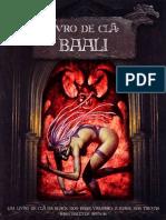 Livro Do Clã - Baali