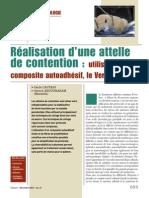 Clinic Dec 2010_Attelle de Contention Et Vertise Flow_Dr ABOUDHARAM