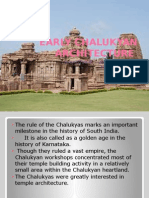 Early Chalukyan Architecture