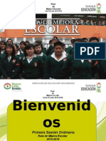 Presentación Primera Sesión Ordinaria   Septiembre 2015