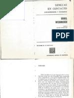 Weinreich - Lenguas en Contacto