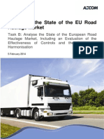 2014 02 05 State of the Eu Road Haulage Market Task b Report