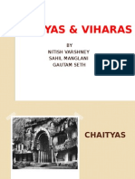 Chaityas and Viharas