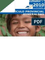 Esmeraldas Censo 2010