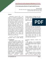 1438077727Web Information Retrieval Using Parallel Processes(Docx)_paper Published