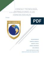 La Dimensión Ética en Ciencia y Tecnología