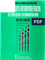 Antropometria Laboral Colombiana - Ergonomía Física.