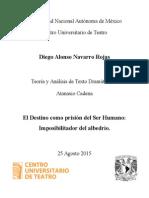 08-25-15 EDIPO REY Destino Prisión Del Ser Humano