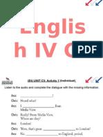 ENGLISH IV C 5