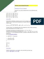 Prova de Matematica Uefs