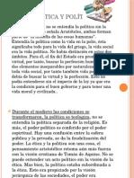 Relación Ética y Política