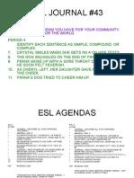 ESL lessons