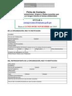 Ficha Organizacional - Modelo 2015