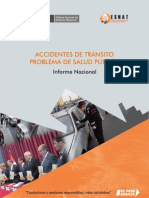Informe Nacional de Accidentes de Transito 2009