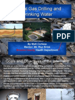 Natural Gas Drilling And Drinking water