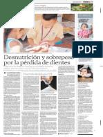 DESNUTRICION Y SOBREPESO