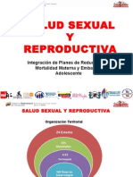 Salud Sexual y Reproductiva.