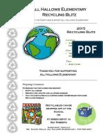 recycling blitz - november 12 2015