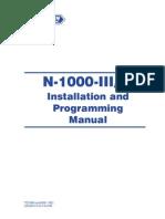 N 1000 IV Panel Manual