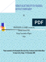 RE ELECTRICITY IN NIGERIA - WAY FORWARD2.pdf