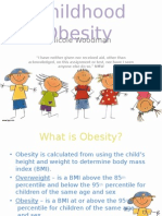 childhood obesity apa