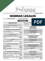 Normas Legales, lunes 2 de noviembre del 2015