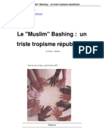"Le ""Muslim"" Bashing"