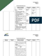 Plan de Ejecucion - Edicion 6 - Fin de Curso