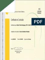 VEDUCA - GEstão de Projetos Curso de certificação